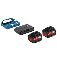 Bosch GAL 1830 18v Cordless Wireless Battery Charger & 2 Li-ion Batteries 4ah