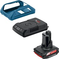 Bosch GBA 12v Cordless Wireless Battery Charger & 1 x Li-ion Battery 2.5ah