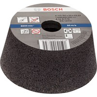 Bosch Conical Abrasive Cup Wheel For Metal
