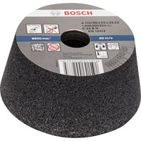 Bosch Conical Abrasive Cup Wheel For Stone
