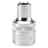 "Draper 1/2"" Drive Satin Finish Hexagon Socket Metric"