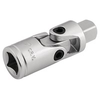 "Draper 3/8"" Drive Satin Chrome Universal Joint"