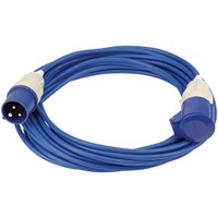 Draper Extension Trailing Lead 16 amp Blue Cable 240v
