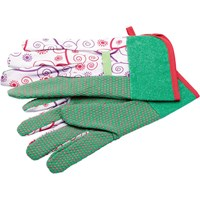 Draper Patterned Garden Gloves