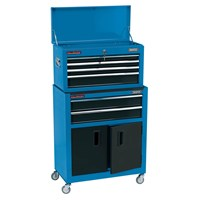 Draper 6 Drawer Roller Cabinet and Tool Chest Combination