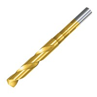 "Sirius Blacksmiths HSS Tin Coated Drill Bit 1/2"" Shank"