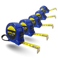 Sirius 5 Piece Contractor Tape Measure Trade Pack
