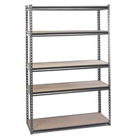 Draper Expert 5 Shelf Heavy Duty Steel Shelving Unit
