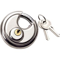 Draper Stainless Steel Padlock Closed Shackle