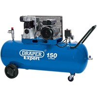 Draper DA150/365C Belt Driven Air Compressor 150 Litre