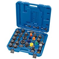 Draper Expert 33 Piece Automotive Radiator and Cap Pressure Test Tool Kit