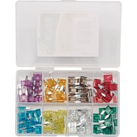 Draper 100 Piece Mini Automotive Plug In Fuse Assortment