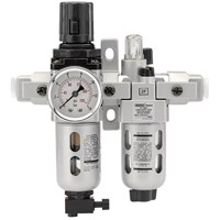 "Draper ALFRL1 1/4"" BSP Air Line Filter, Regulator & Lubricator"