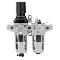 "Draper ALFRL2 1/2"" BSP Air Line Filter, Regulator and Lubricator"