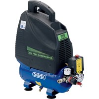 Draper DA6/169 Oil Free Air Compressor 6 Litre