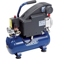 Draper DA8/118 Oil Free Air Compressor 8 Litre