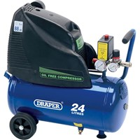 Draper DA25/169 Oil Free Air Compressor 24 Litre