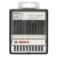 Bosch 10 Piece Metal Cutting Jigsaw Blade Set