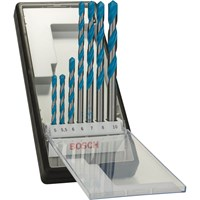 Bosch 7 Piece MultiConstruction Drill Bit Set