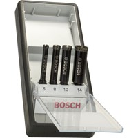 Bosch 4 Piece Diamond Drill Bit Set