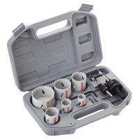 Bosch 9 Piece Plumbers HSS Bi Metal Hole Saw Set