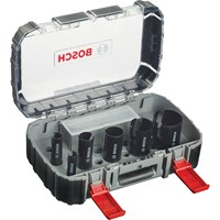 Bosch 10 Piece Multi Construction TCT Hole Saw Set