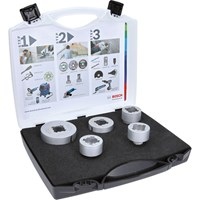 Bosch X Lock 5 Piece Dry Speed Diamond Hole Cutter Set