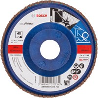 Bosch X571 Best for Metal Straight Flap Disc