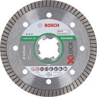 Bosch X Lock Best Extraclean Turbo Diamond Disc for Ceramics