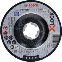 Bosch X Lock Expert Depressed Centre Cutting Disc for Metal