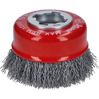 Bosch X Lock Crimped Steel Wire Cup Brush