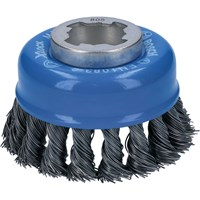 Bosch X Lock Steel Wire Cup Brush 0.5mm