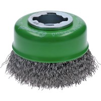 Bosch X Lock Crimped Stainless Steel Wire Cup Brush