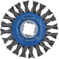 Bosch X Lock Knotted Wire Wheel