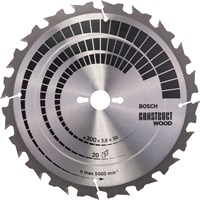 Bosch Construct Wood Cutting Table Saw Blade