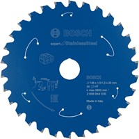 Bosch Expert Cordless Circular Saw Blade for Stainless Steel