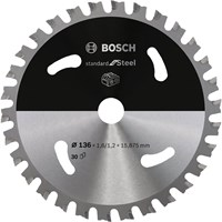 Bosch Cordless Circular Saw Blade for Steel