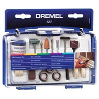 Dremel 52 Piece Multi Purpose Rotary Multi Tool Accessory Set