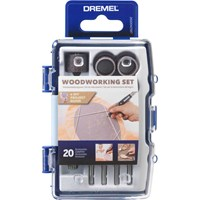 Dremel 681 20 Piece Woodworking Accessory Set