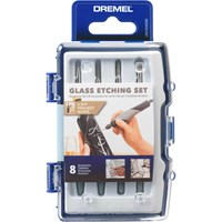 Dremel 682 8 Piece Glass Etching Set