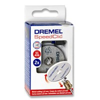 Dremel EZ SpeedClic 3 Piece Cutting Disc Set