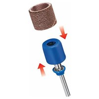 Dremel SC407 EZ SpeedClic Mandrel and 2 Piece Sanding Sleeve Set