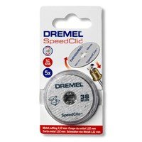 Dremel SC456 EZ SpeedClic 38mm Metal Cutting Wheels