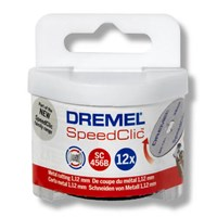 Dremel SC456B EZ SpeedClic 38mm Cutting Wheels