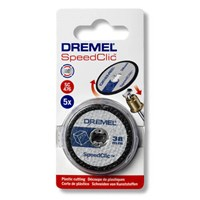 Dremel SC476 EZ SpeedClic 38mm Plastic Cutting Wheel