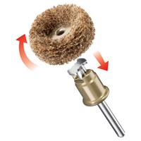 Dremel 511S EZ SpeedClic 2 Piece Abrasive Buffing Wheel Set
