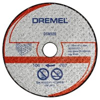 Dremel DSM520 Masonry Cutting Wheel for DSM20