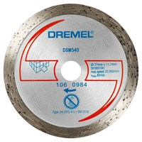 Dremel DSM540 Tile Cutting Wheel for DSM20