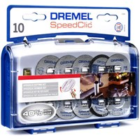 Dremel EZ SpeedClic 11 Piece Cutting Disc Set
