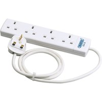 Draper 4 Socket Extension Lead